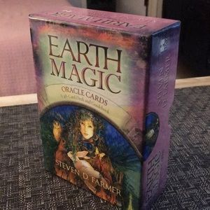 Earth Magic oracle deck of divination cards
